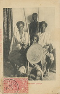 Guerriers Danakils Edit Arabiantz Stamped  To Han De Hyver Paris From Diré Daoua - Ethiopia
