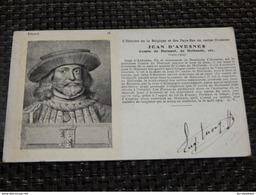 BELGIQUE - HISTOIRE - Jean D'Avesnes , Comte De Hainaut Et De Hollande - Histoire