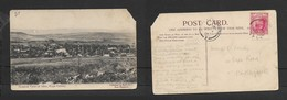 S. Africa View Of Alice, Cape Colony, Used 1d, 1906, >PORT ELIZABETH OC 4 06 ( Arrival C.d.s.) - South Africa