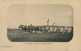 18 Harrar Un Groupe De Soldats Abyssins Edit J.G. Mody . Dos Empire - Ethiopia