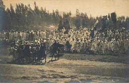 Real Photo Warriors And Cavalry Guerriers Et Cavaliers  Edit Jos. Steinlehner - Ethiopia