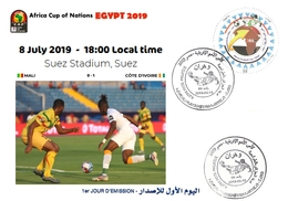 DZ Algeria 1842 African Cup Of Nations Football Egypt 2019 Soccer CAF CAN Mali Côte D'Ivoire - Africa Cup Of Nations