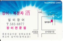 SOUTH KOREA - Korean Text(585-8877)(W2000), CN :MC96103209, 10/96, Used - Korea, South
