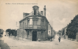 CPA - France - (16) Charente - Ruffec - Route De Montjean Et Avenue Gambetta - Ruffec