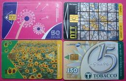 Macedonia Lot Of 4 CHIP Phonecards - Macedonia