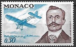MONACO    -   1972 .   Y&T N° 910 **.   Louis Blériot  /  Avion - Monaco