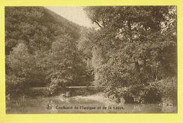 * Houyet (Namur - La Wallonie) * (Nels, Ern Thill) Vallée De La Lesse, Confluent De L'Iwoigne Et De La Lesse, Canal - Houyet
