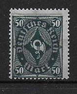 Deutsches Reich  Michel Nr 209 PI 50M Abart Verschoben Unterdruck Infla Error Shifted Underprint - Germany