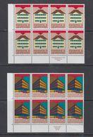 Europa Cept 1990 Liechtenstein 2v Bl Of 8 ** Mnh (43428) - 1990