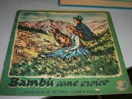 LIBRETTO BAMBU' CANE EROICO -EDIZIONI A& G.M. NETTUNO OMNIA - Klassiekers