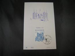 "BELG.1971 1570 FDC Echophil Card: ""8e Eeuwfeest Van De O.L.V. Kathedraal Van Doornik- 8e Centenaire De La Cathédrale N."" - FDC"