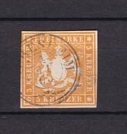Wuerttemberg - 1859 - Michel Nr. 12 C - Wurttemberg
