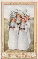 EASTER ; Girl Choir , 1911 - Ostern