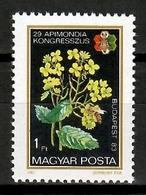 Hungary 1983 Hungría / Flowers Bees MNH Blumen Abejas Flores Fleurs / Cu14103  C5-12 - Vegetales