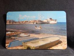 Mexico Fiscal Wharfs Boat Landing__(U-851) - Schiffe