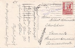 ESPAGNE 1933 CARTE CENSUREE DE PALMA DE MALLORCA - Marques De Censures Nationalistes