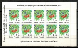 Finland 1991 Finlandia / Fruits MNH Frutas Frucht / Cu14105  C5-10 - Frutas