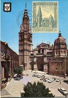 46069 San Marino, Maximum 1967  Tha Cathedral Of Toledo  Spain, Architecture, - Eglises Et Cathédrales