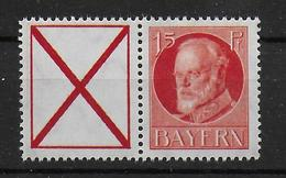 Bayern Michel Nr W7 Zusammendruck - Bayern (Baviera)
