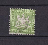 Wuerttemberg - 1863 - Michel Nr. 25 A - Wurttemberg