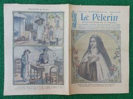 Revue Illustrée Le Pèlerin - Avril 1923 - Sœur Thérèse De L'Enfant-Jésus Guidant Un Brancardier Sous La Mitraille - Journaux - Quotidiens