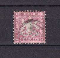 Wuerttemberg - 1863 - Michel Nr. 26 B - Wuerttemberg
