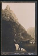 NORGE - ROMSDALSHORN   - PHOTOGRAPHICUM A.S.HAGEN MOLDE - 14.5 X 9.7 CM - Noruega