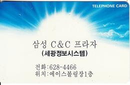 SOUTH KOREA - Korean Text(628-4466)(W2000), CN : MC96033056, 02/96, Used - Korea, South