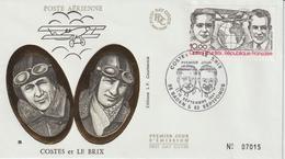 France FDC 1981 Costes Et Le Brix PA 55 - FDC