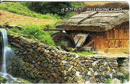 SOUTH KOREA - Water Mill In Backjeonri(W3000), 02/96, Used - Korea, South