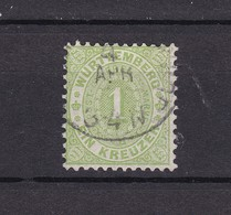 Wuerttemberg - 1874 - Michel Nr. 43 - 50 Euro - Wurttemberg