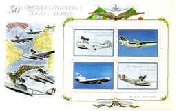 ERINNOFILIA / 50 Crociera Atalantica Italia-Brasile - Vignetten (Erinnophilie)