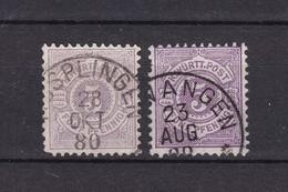 Wuerttemberg - 1875/90 - Michel Nr. 45 A/b - 86 Euro - Wuerttemberg