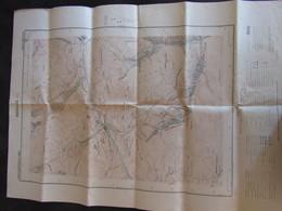05 - Aiguilles - 1930 -  Carte Du Service Géographique De L'armée - 3 Scan - Cartes Topographiques