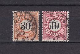 Wuerttemberg - 1900 - Michel Nr. 61/62 - Wuerttemberg