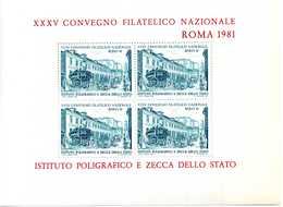 ERINNOFILIA / XXXV Convegno Filatelico Nazionale ROMA 1981 - Erinnofilia