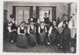 AI52 Die Engel Familie, Reutte - RPPC - Singers & Musicians