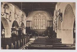 AI53 Hawkshead Church, Interior - Cumberland/ Westmorland
