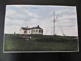 Cpa Colorisée LESCONIL Le Sémaphore Voyagée En 1944 - Lesconil