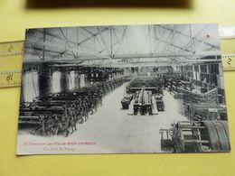 Les Fils De Brun Champein Salle  Tissage - Industrie