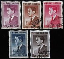 1956 VIETNAM DU SUD YT 42, 43 , 46, 47, 48 . Ngo Dinh Diem - Viêt-Nam