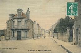 CPA - France - (16) Charente - Ruffec - Avenue Gambetta - Ruffec