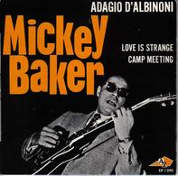 Baker Mickey 45t  Adagio D'Albinoni - Love Is Strange - Camp Meeting (avec La Languette Pochette Une Crois Au Stylo Au D - Rock