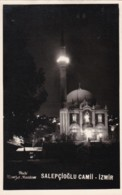 AQ38 Salepcloglu Camii, Izmir - Nightview Of Mosque, Plain Back - Turkey