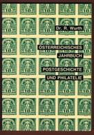 Österreich Jahrbuch Für Postgeschichte  Und Philatelie Nr 9 - Manuali