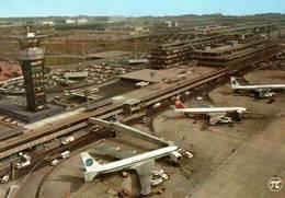 CPM - AEROPORT De PARIS ORLY - Vue Aérienne De L'aérogare ... - Aérodromes