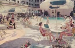 AR36 Outdoor Swimming Pool And Patio, Somerset Hotel, Boston, Mass. - Boston