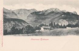 AR36 Panorama Eckbauer - Undivided Back - Garmisch-Partenkirchen