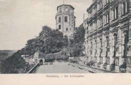 AR36 Heidelberg, Der Schlossaltan - Undivided Back - Heidelberg