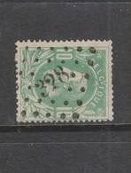COB 30 Oblitération à Points 328 ST-NICOLAS +1 - 1869-1883 Leopold II.